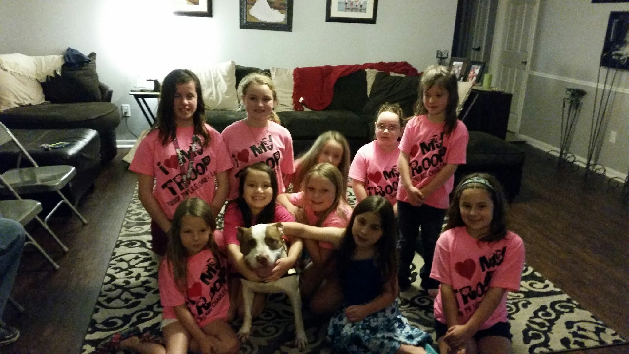 Girl Scouts and The Positive Pit Project